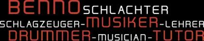 Benno Schlachter: Schlagzeuger, Musiker, Lehrer, Hamburg, Kontakt