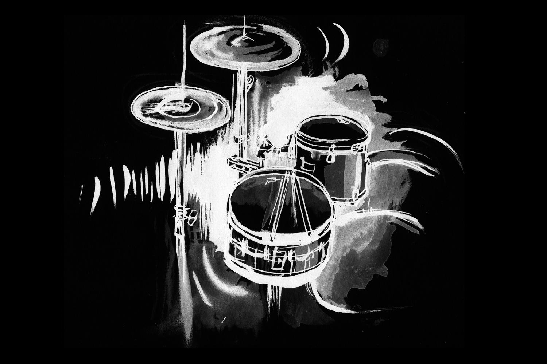 Benno Schlachter: Schlagzeuglehrer, Musiker, Hamburg,Equipment