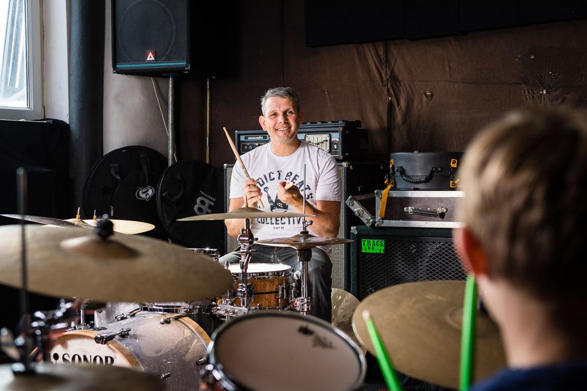 Benno Schlachter: Schlagzeuglehrer, Schlagzeugunterricht, Musiker, Hamburg